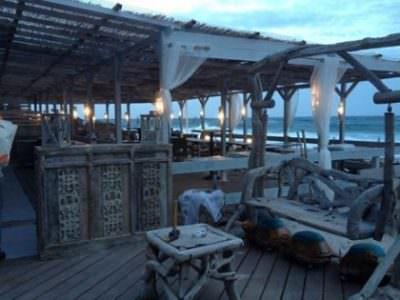 French Riviera Beach Restaurant