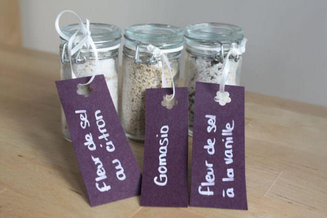 Sel aromatisés- cadeaux invités