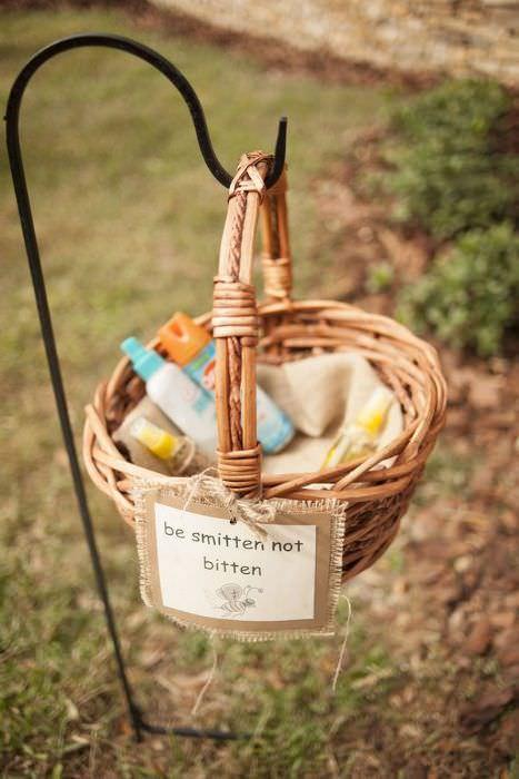 Anti-moustiques- cadeaux invités