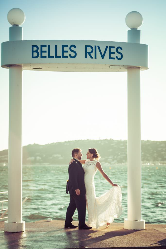 wedding on the Frenc riviera- By the sea- Alliance Rêvée