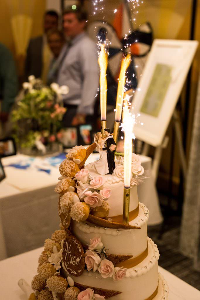 wedding on the Frenc riviera- Wedding cake revisité- Alliance Rêvée