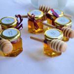 Pot de miel- cadeaux d'invités