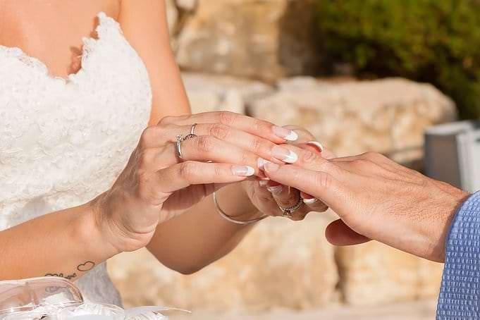 Echange des alliances- mariage-Alliance Rêvée