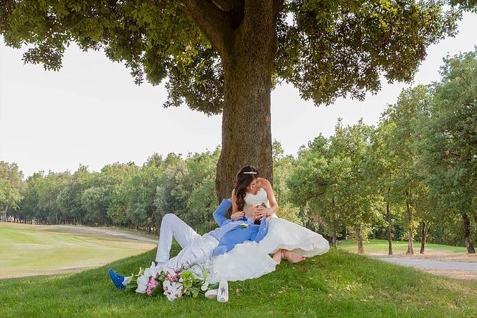 Wedding in Grasse- Alliance Révée- Bride and Groom