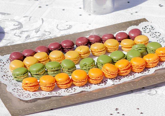 macarons mariage- Alliance Rêvée- Wedding planner draguignan
