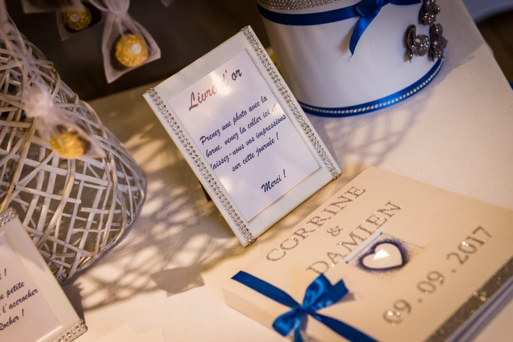 Mariage féerique - Livre d'or personnalisé - Alliance Rêvée