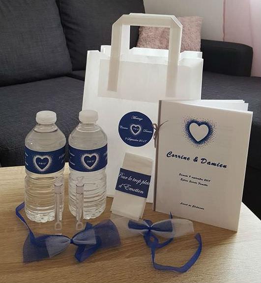 Mariage féerique - Wedding bag personnalisé- Alliance Rêvée