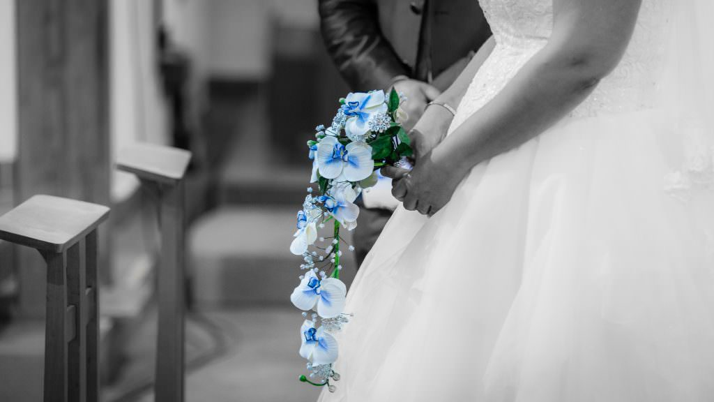 Mariage féerique - Bouquet de mariée éternel- Alliance Rêvée