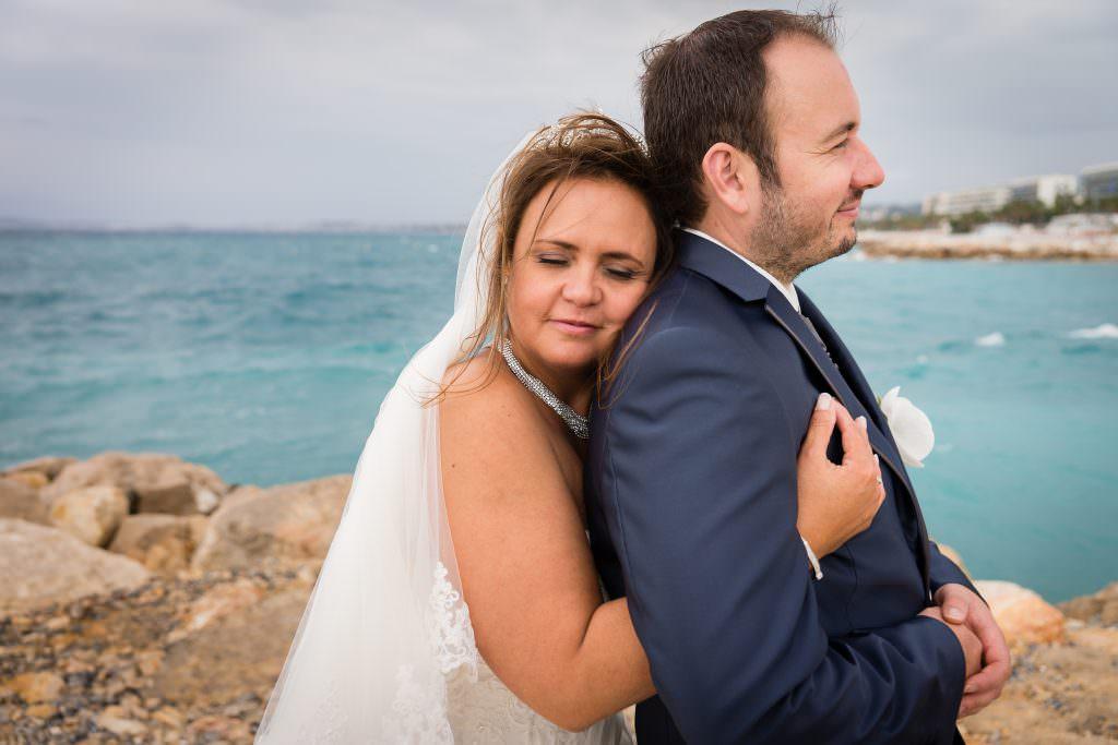 Fairy wedding - Couple pictures sea side- Alliance Rêvée