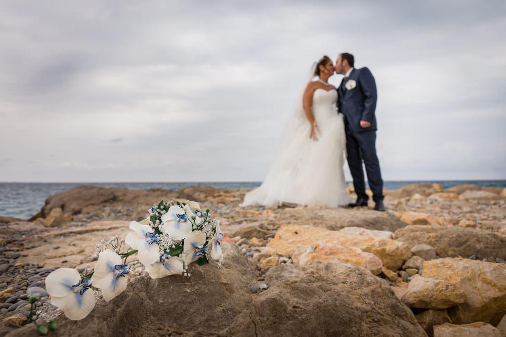 Corrine et Damien - Bouquet de mariée éternel- Alliance Rêvée