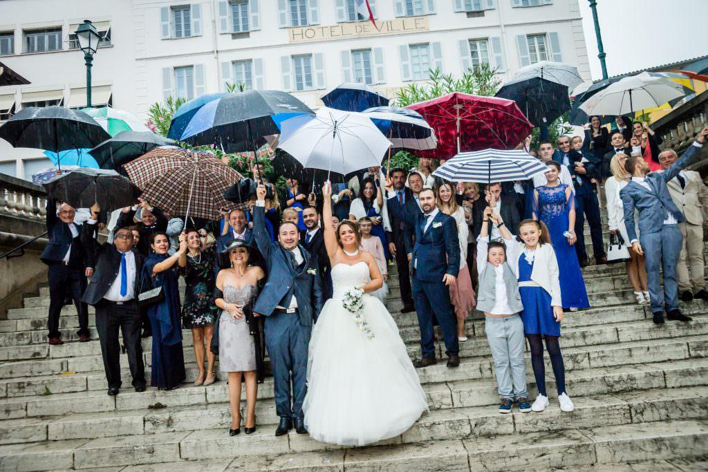 Mariage féerique - Mariage pluvieux- Alliance Rêvée
