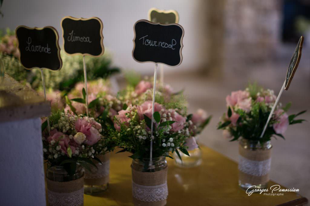 Mariage rétro champêtre- Déco floral champêtre- Alliance Rêvéee