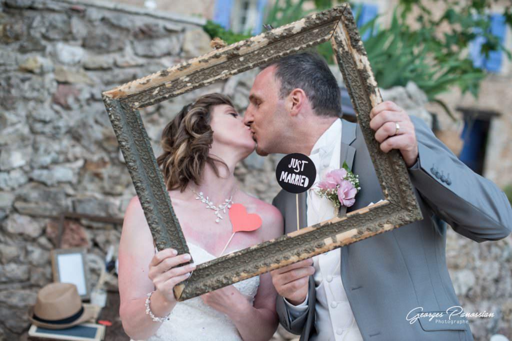 Mariage rétro champêtre- Photobooth- Alliance Rêvée