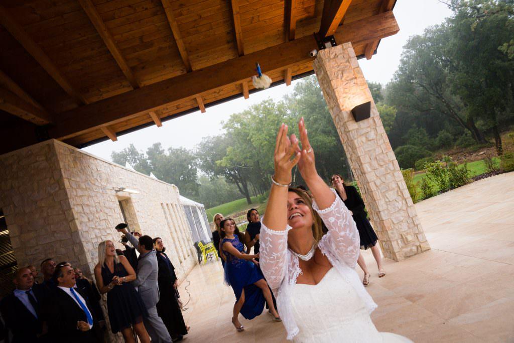 Mariage féerique - Lancer de bouquet- Alliance Rêvée