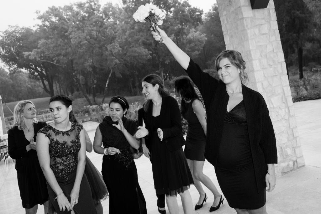 Mariage féerique - Lancer de bouquet mariée- Alliance Rêvée