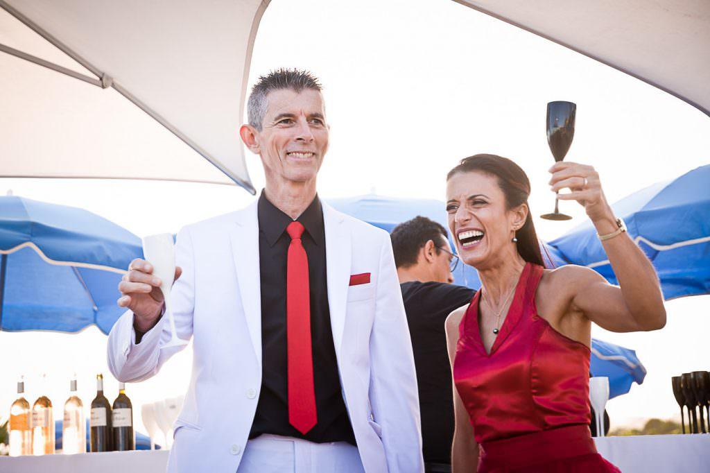Mariage au bord de mer. Cocktail mariage. Alliance Rêvée