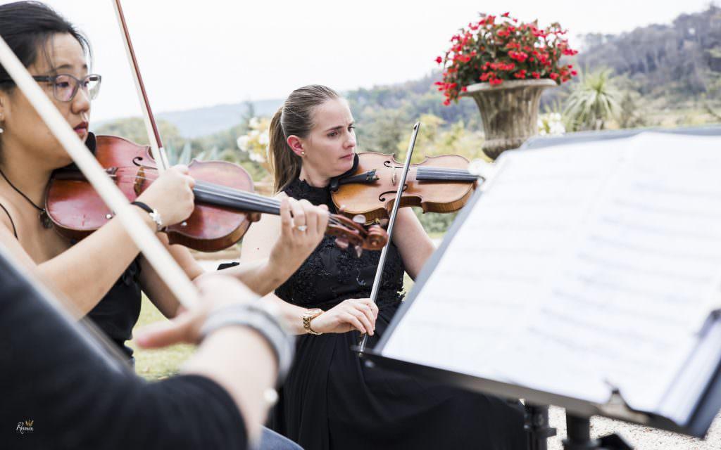 Mariage provence- Musique cérémonie de mariage - Alliance Rêvée