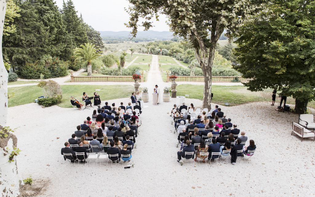 Wedding in provence- Wedding ceremony- Alliance Rêvée