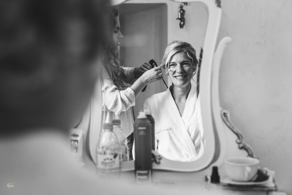 Wedding in Provence- Bride preparation- Alliance Rêvée