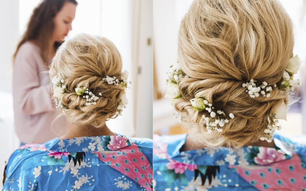 Wedding in provence- Bride's hair- Alliance Rêvée