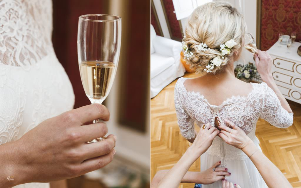 Wedding in provence-Bride's preparatif- Alliance Rêvée
