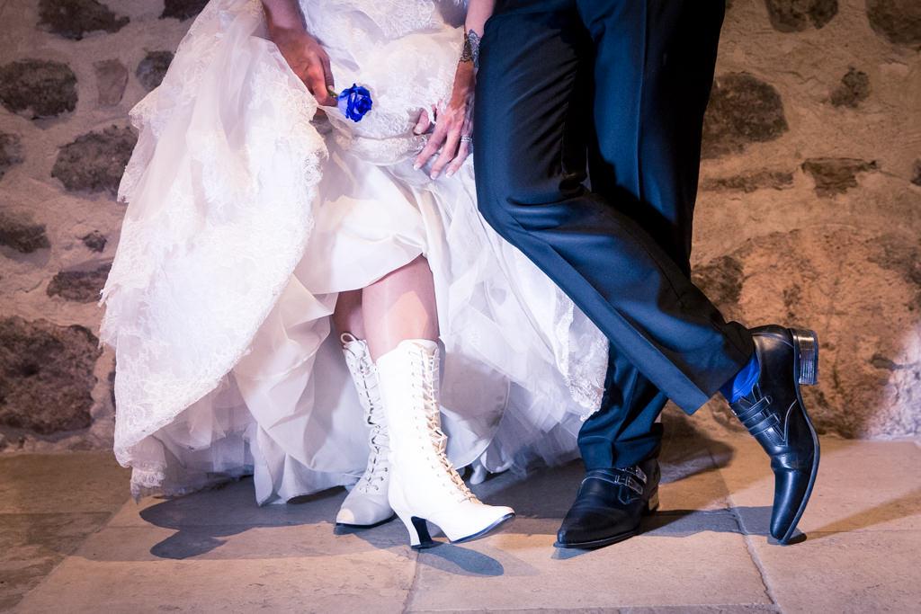 Alice aux pays des merveilles- Botte mariée- Alliance Rêvée