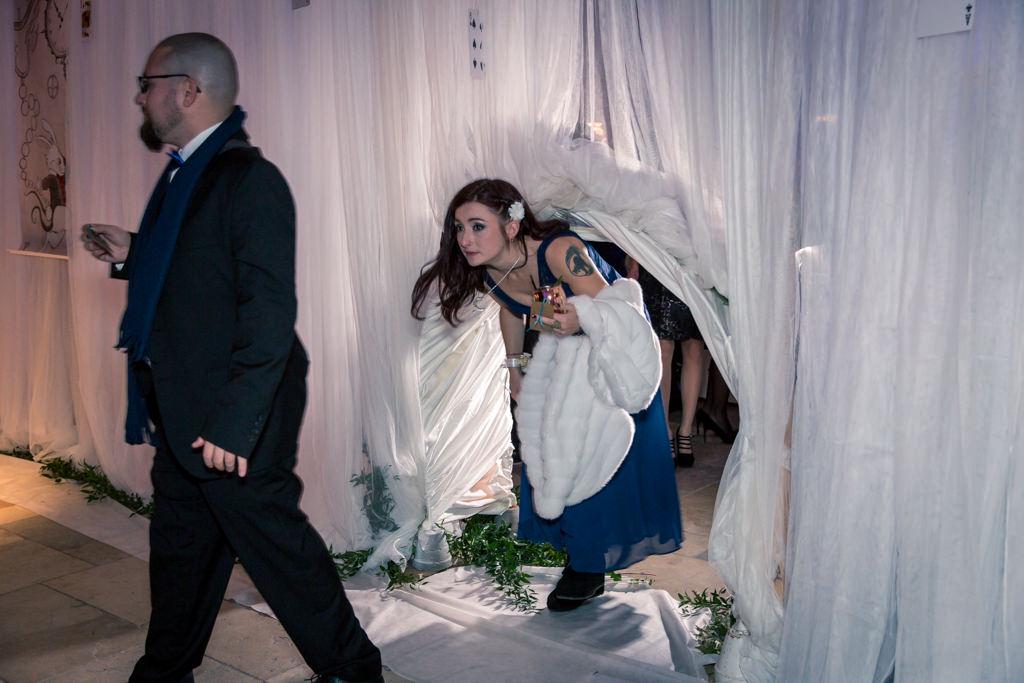 Mariage hivernal- Entrée passage Alice aux pays des merveilles- Alliance Rêvée