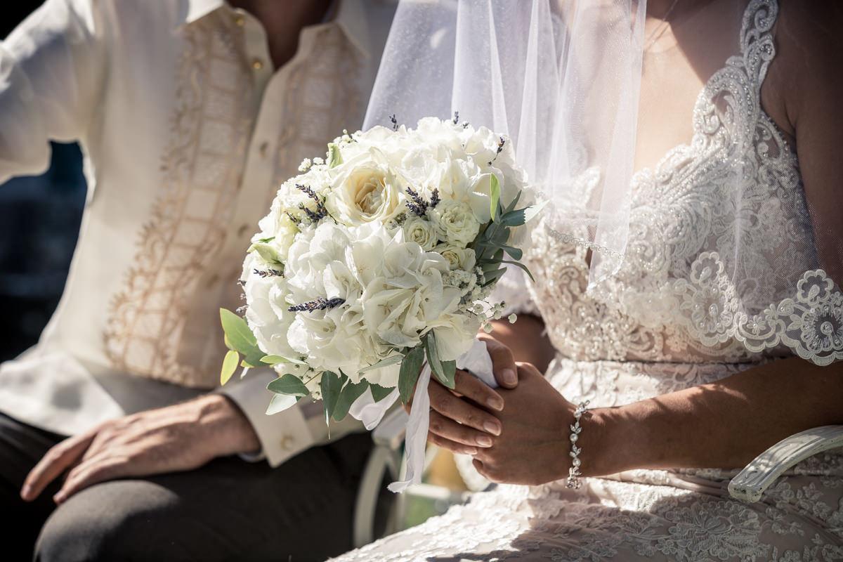 Dulce et Cédric- Bouquet de Mariée- Alliance Rêvée
