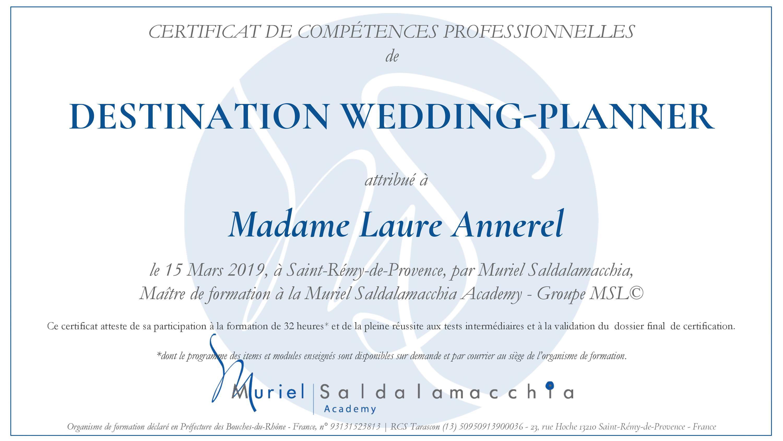 organisatrice de mariage de destination- Alliance Rêvée