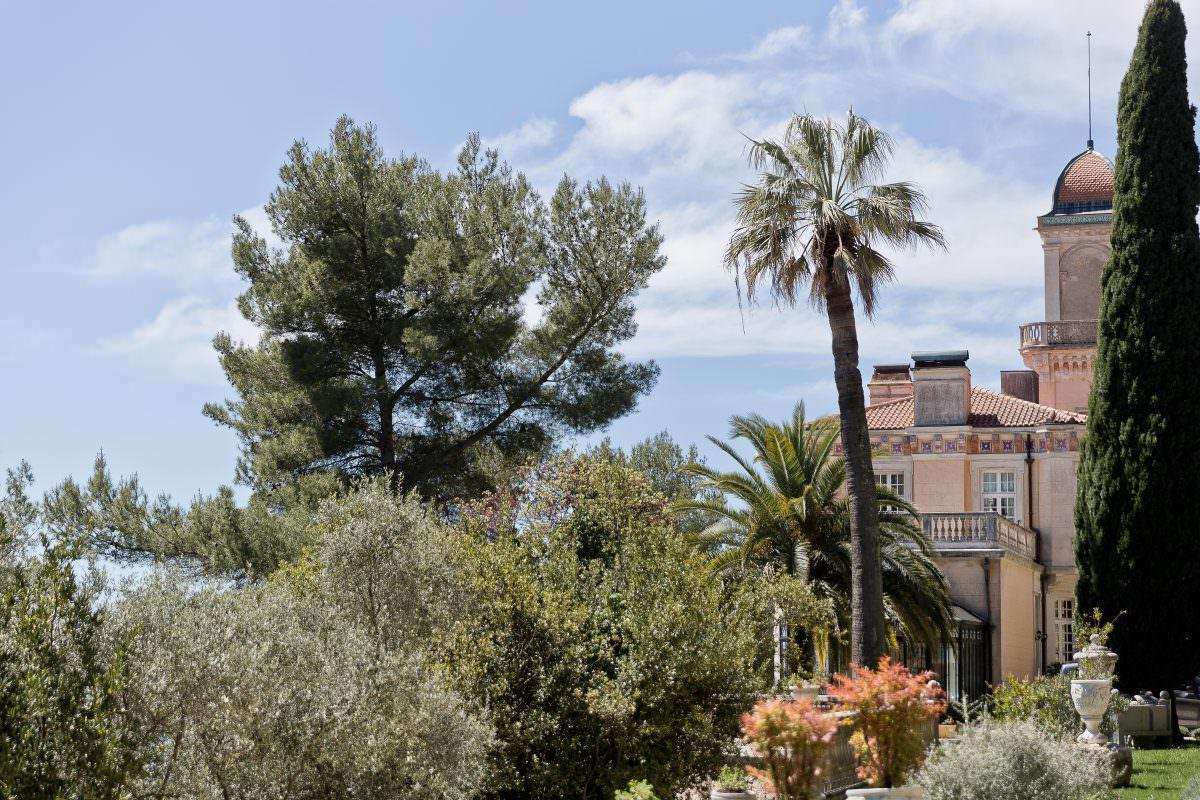 Château de luxe de la côte d'Azur