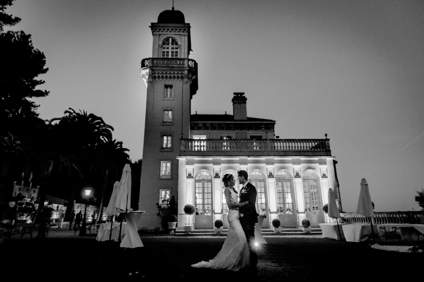 mariage dans un château de la côte d'azur