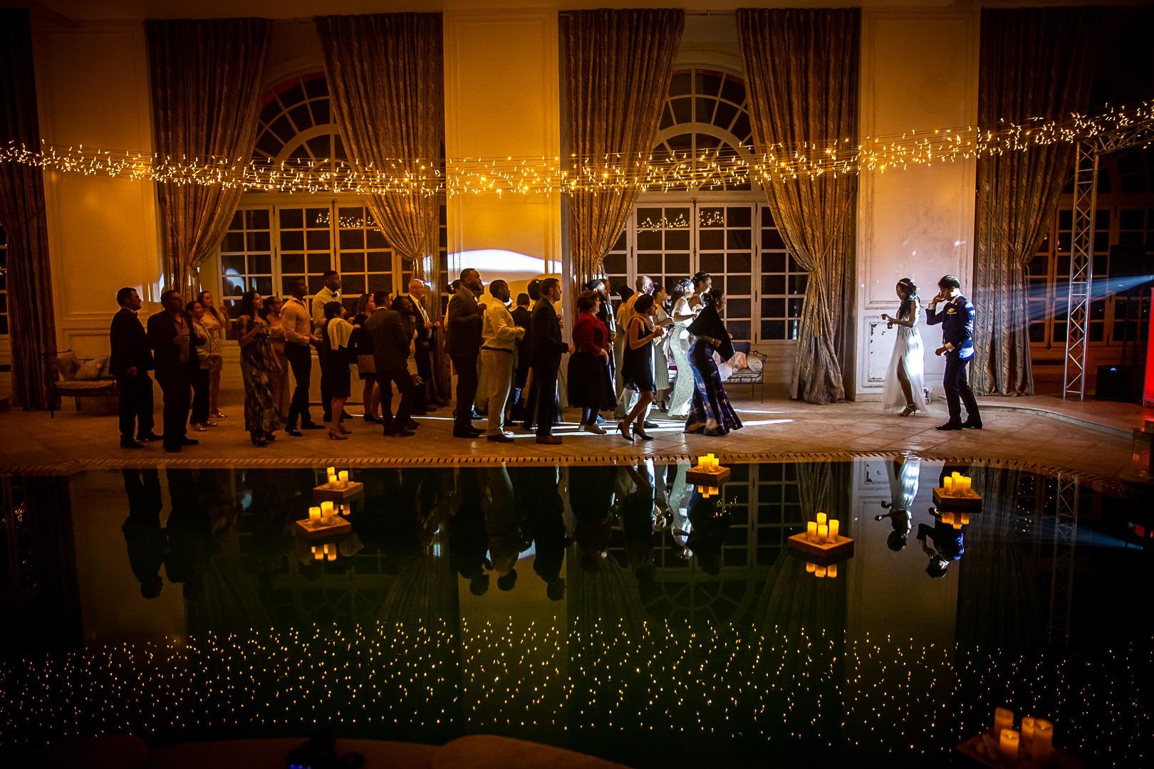 Soirée dansante- Mariage dans un château de la Côte d'Azur - Alliance rêvée