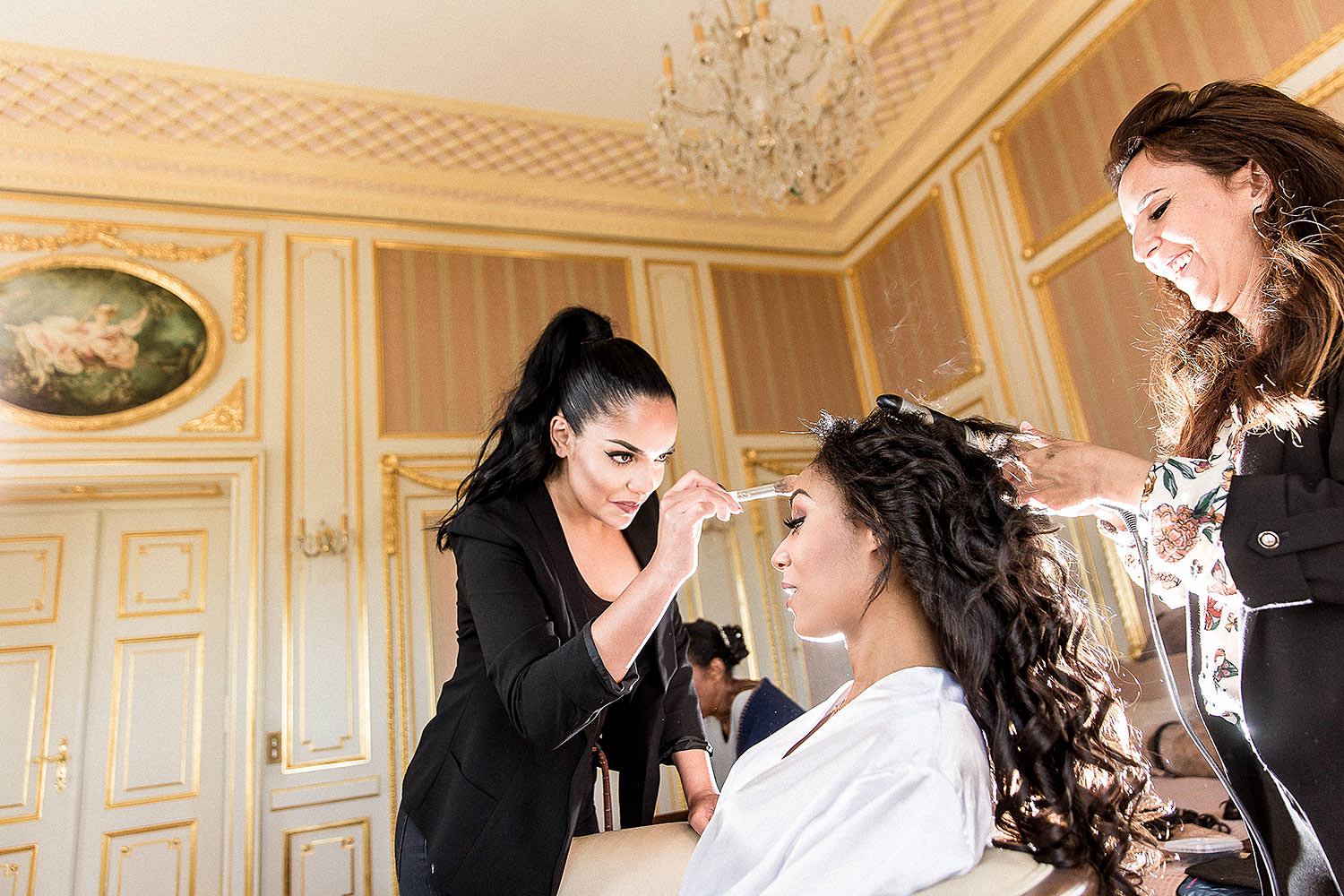 Bride Make up - Wedding in a French Riviera's Castle - Alliance rêvée