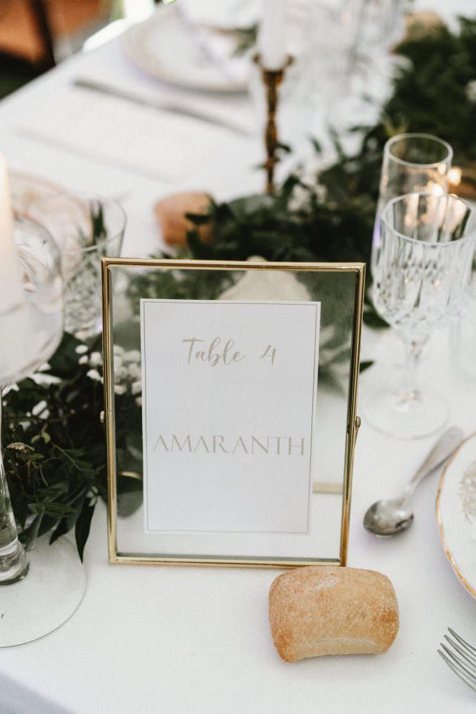 Greenery wedding in a private property - Alliance Rêvée