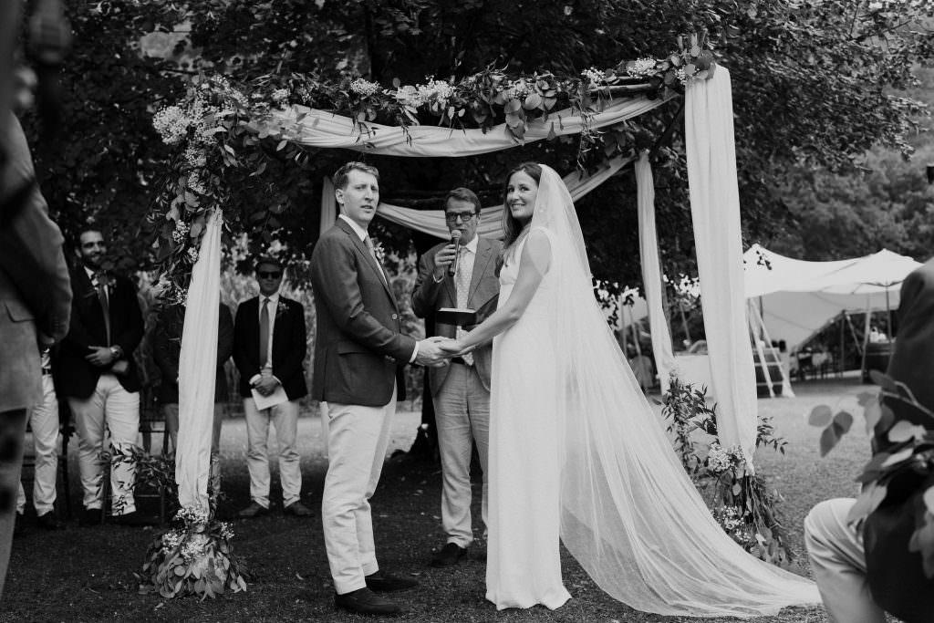 Rosie et Jon mariage
