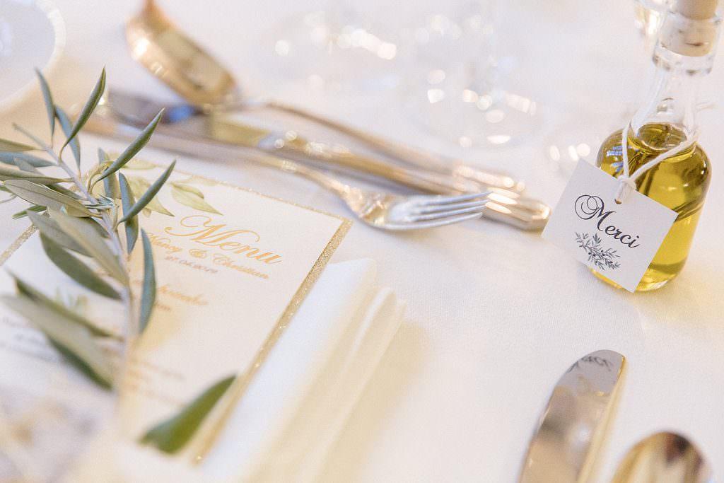 Décoration de mariage romantique avec une touche provence- Alliance Rêvée