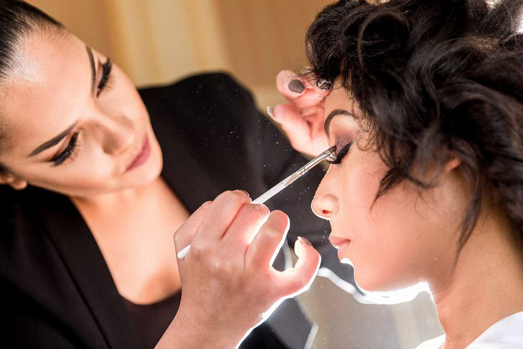 Maquillage yeux mariée- Alliance Rêvée