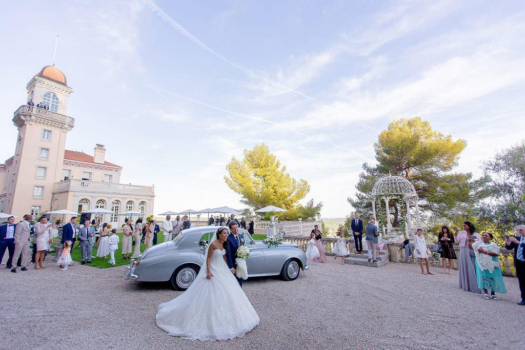 Mariage château de la côte d'Azur- Alliance Rêvée