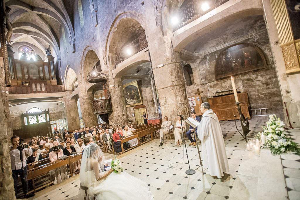 Mariage religieux église de Grasse- Alliance Rêvée