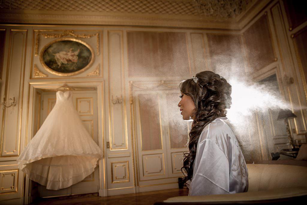 Mariée dans un château de la côte d'Azur- Alliance Rêvée