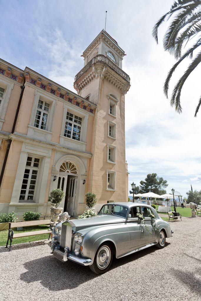 Rolls Royce- mariage princier dans un château de la Côte d'Azur- Alliance Rêvée