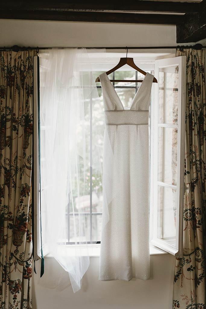 Robe de mariée - Mariage végétal dans une propriété privée - Alliance Rêvée