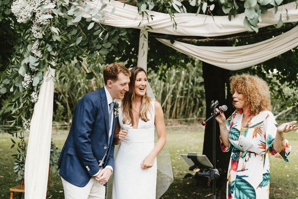 Chanteuse professionnelle pour cérémonie de mariage
