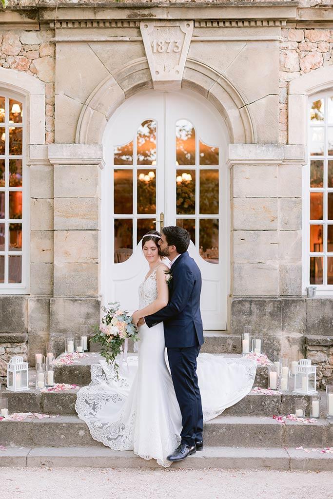 Photo de couple - Mariage de destination entre la Côte d'Azur et la Provence