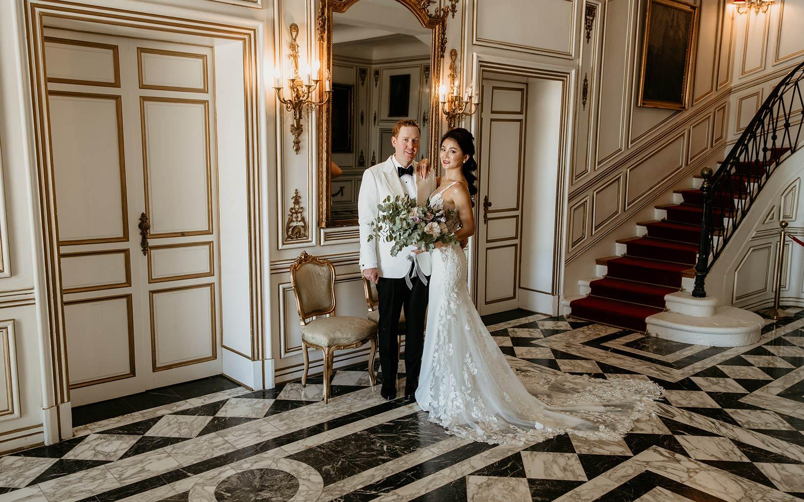 Cici et Jon mariage dans un château de Provence - Alliance Rêvée
