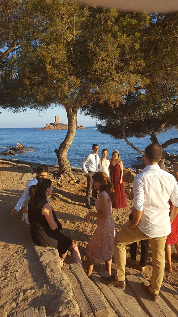 Beach celebration -Destination wedding between the French Riviera and Provence- Alliance rêvée