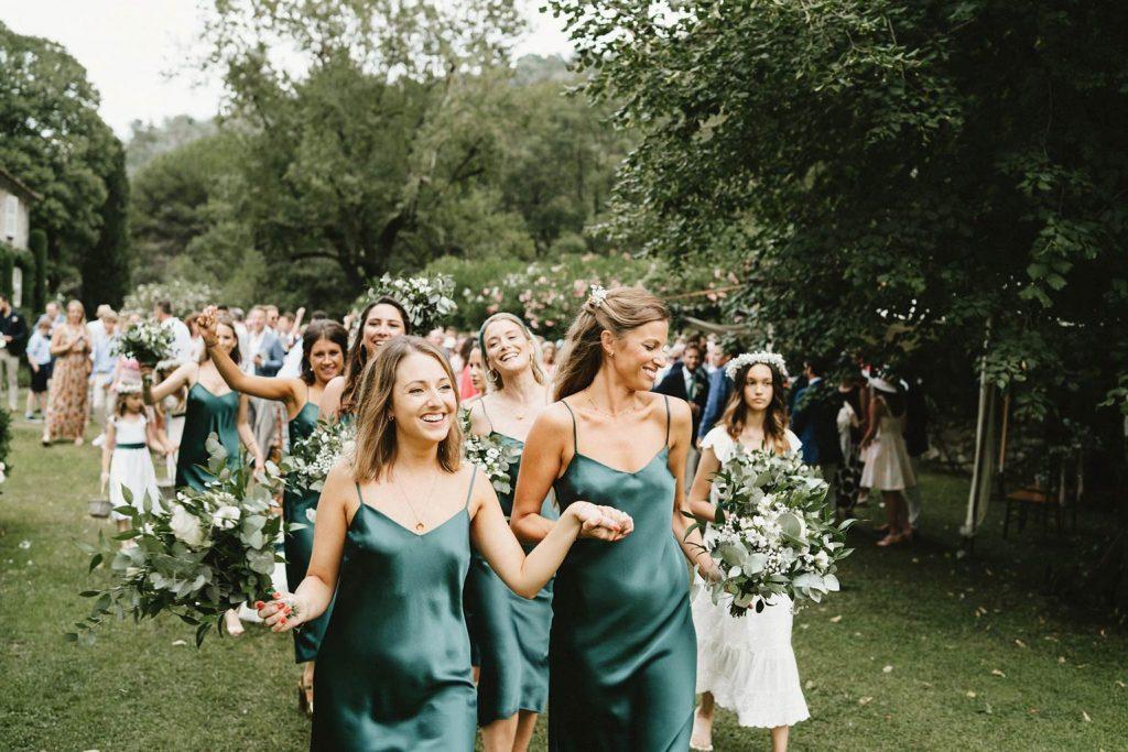 Cortège sortis de cérémonie - Mariage végétal - Alliance Rêvée