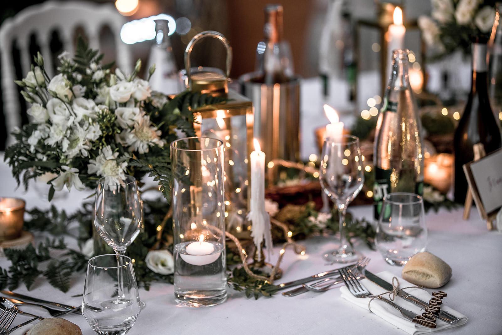 Décoration table mariage Coralie et Nicolas